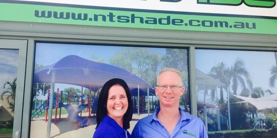 NT Shade is locally owned  and operated by Chris and Michelle Batenburg.